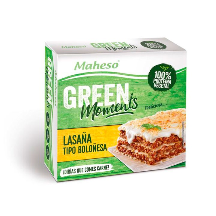 Lasaña vegetal Green Moments