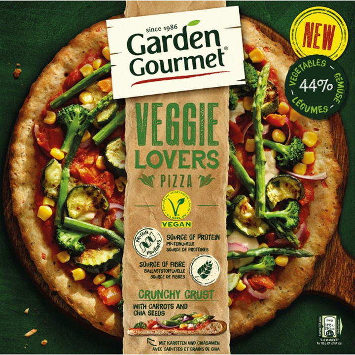 Pizza Veggie Lovers Garden Gourmet