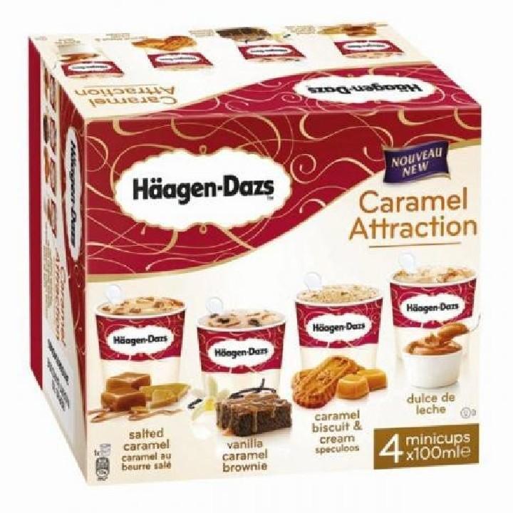 Mini Cups Caramel Attraction H.Dazs