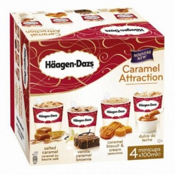 Mini Cups Caramel Attraction Häagen Dazs