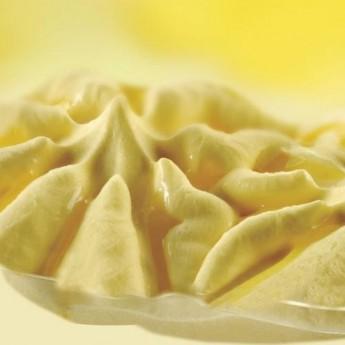 Helado con yogur de limón