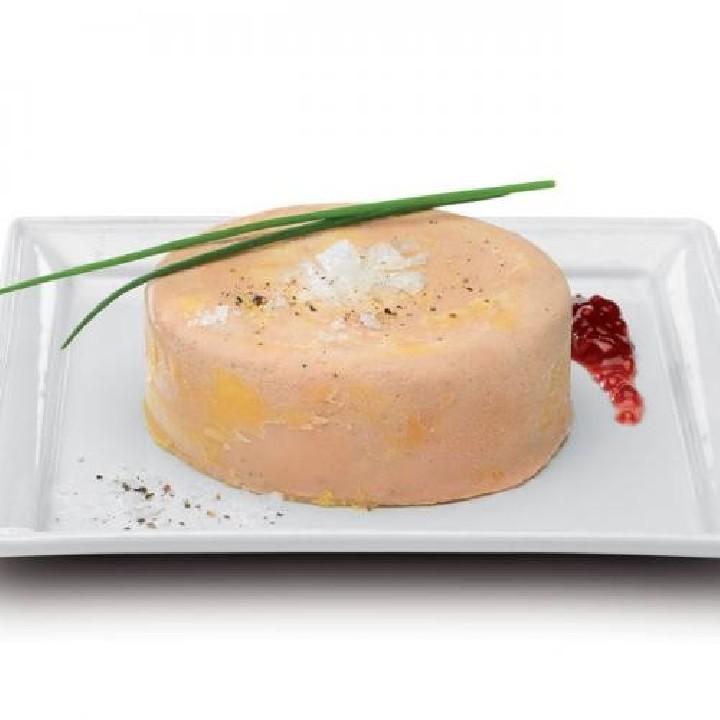 Mi cuit con trozos de foie Premium