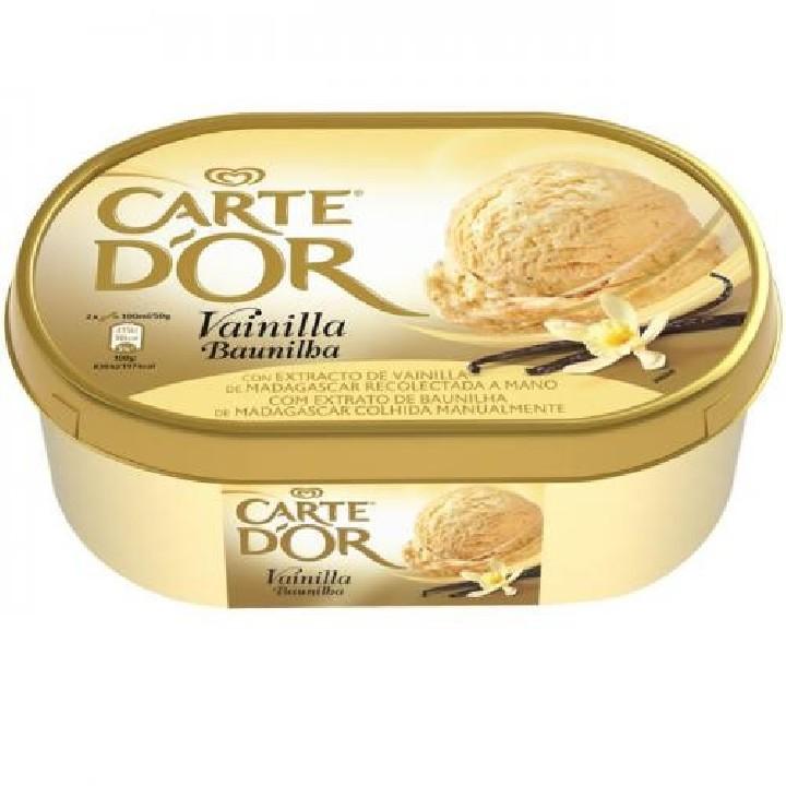 Tarrina vainilla Carte D'Or Frigo