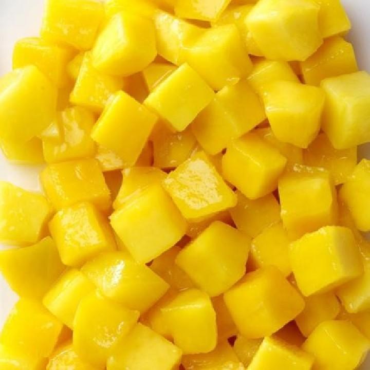 Mango trossejat