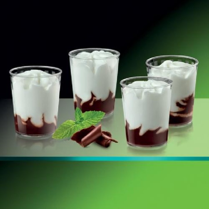 Vasitos de menta y chocolate Premium