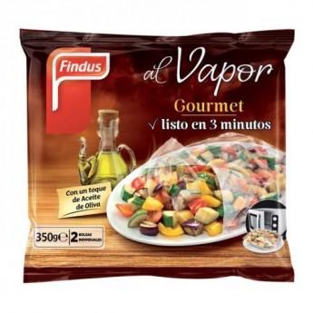 Gourmet al vapor de Findus