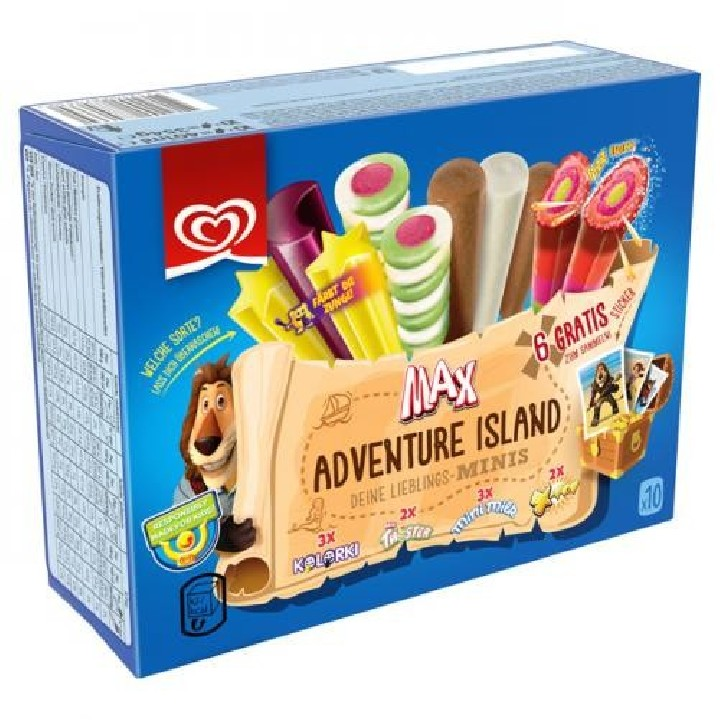 Pack mixte max adventure Frigo