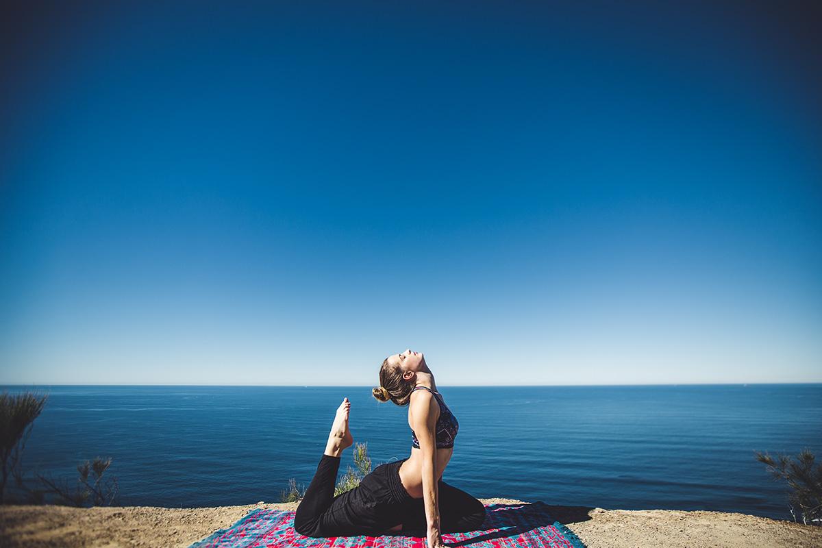 El body balance reúne las técnicas del yoga, el taichí y el pilates.