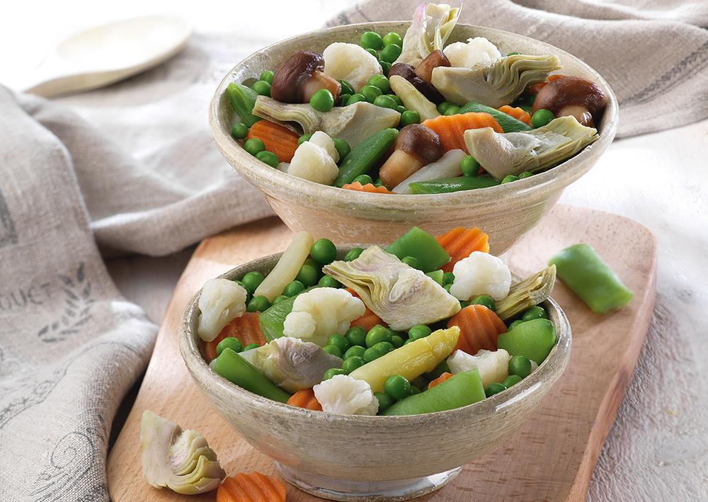 Las verduras congeladas son una pieza clave en la nutrición de las personas