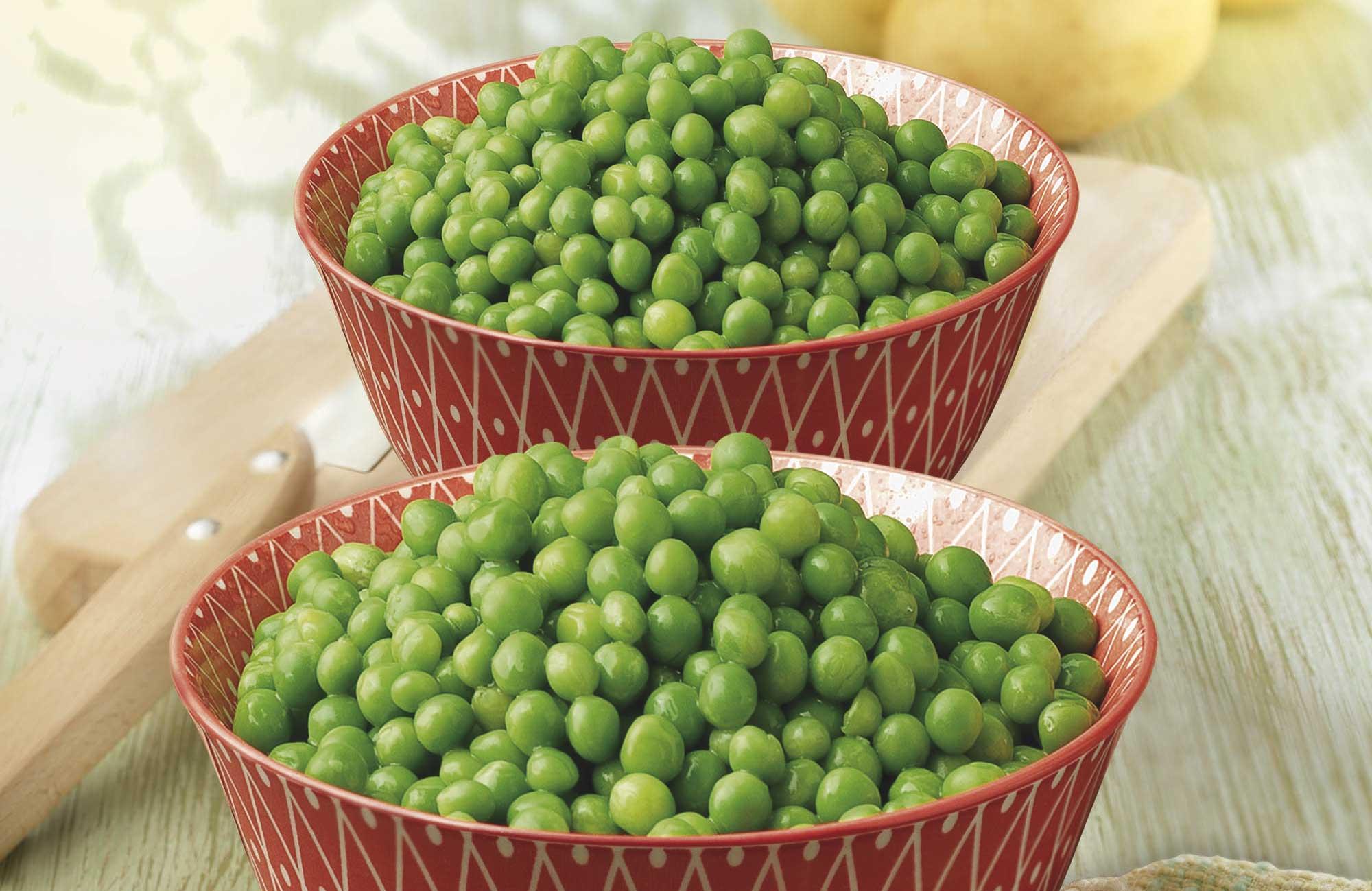 ¡Incluye los guisantes a tu sopas, pastas, cremas y guisos!