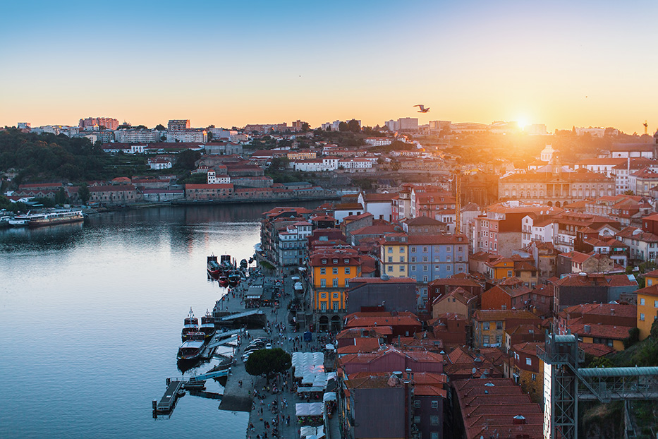 Oporto es la segunda ciudad más grande de Portugal.