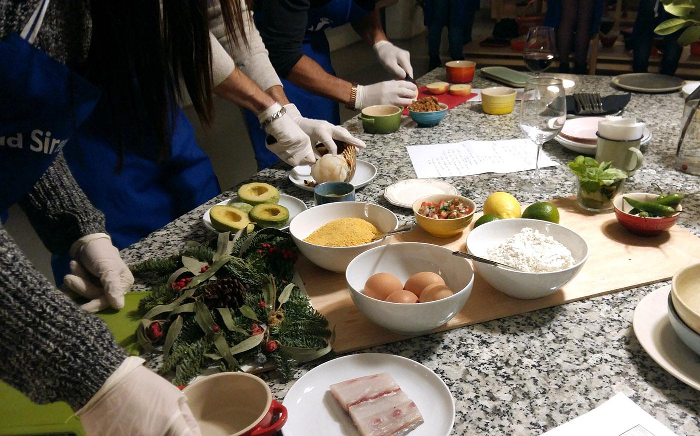 Los platos elaborados fueron sometidos a la valoración de un jurado.