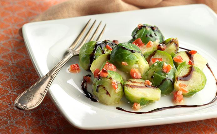 Las coles de Bruselas nos aportan vitaminas C y K.