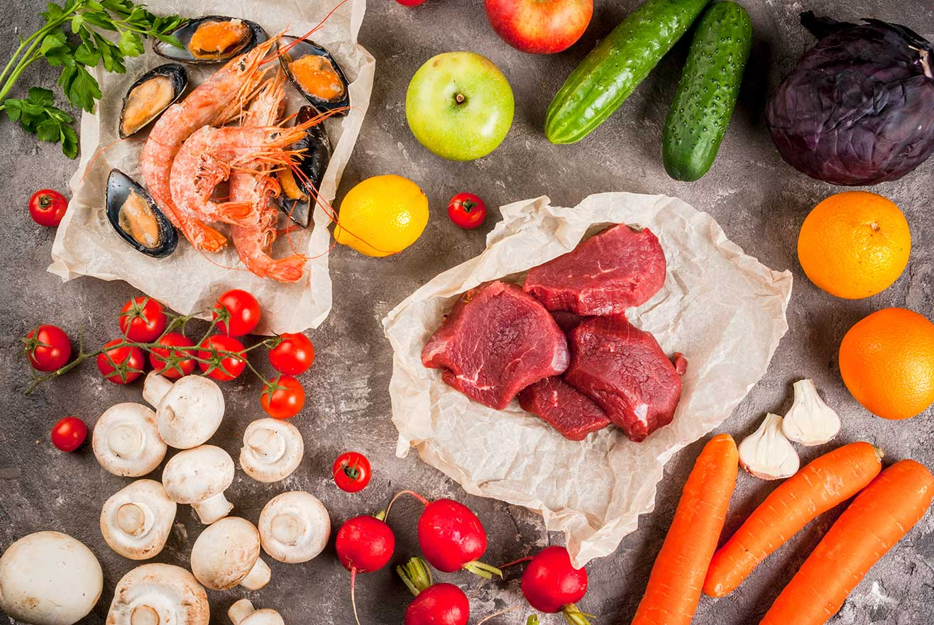 ¡Incluye carne y pescado en tu dieta!