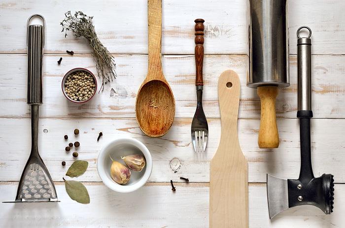 ¿Cuándo fue la última vez que usaste cada utensilio?